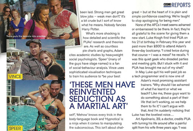 Vince & Speer Featured in Cosmo